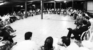 Primeira reunião da Frente em 2 de maio de 2016 . Foto Mídia Ninja.